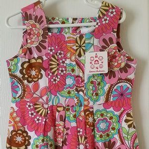 NEW Girls Hanna Andersson Dress Sz 110 US 5-6
